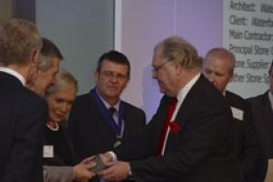 Lord Digby Jones presented the trophies at the Natural Stone Awards as well as offering some words of inspiration to the audience.