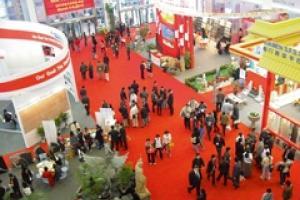 The Xiamen stone exhibition last year.