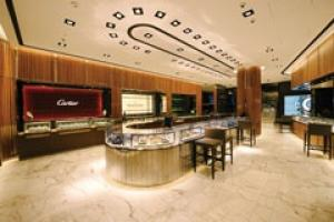 Stone creates the right ambience for selling luxury that only soe can afford.