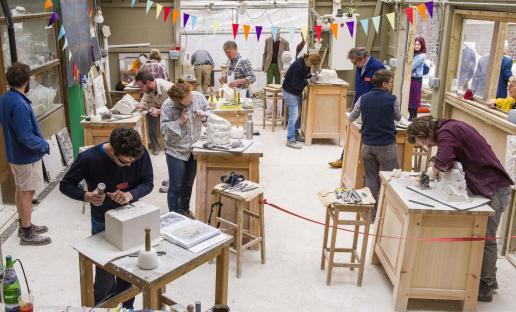 City & Guilds of London Art School open house