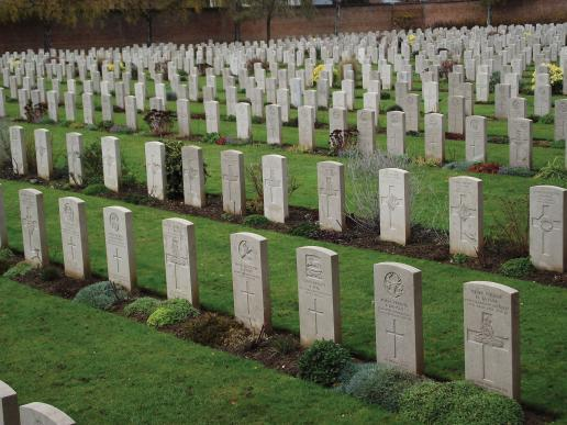 War garves cemetery