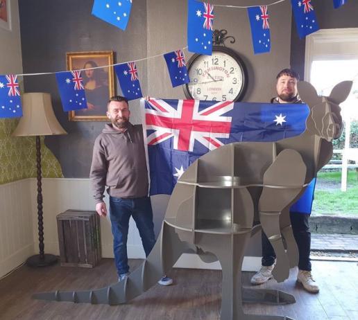 Masons with Silestone kangaroo