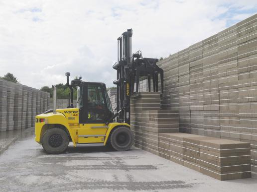 Updated H8-126XM range of lift trucks from Hyster