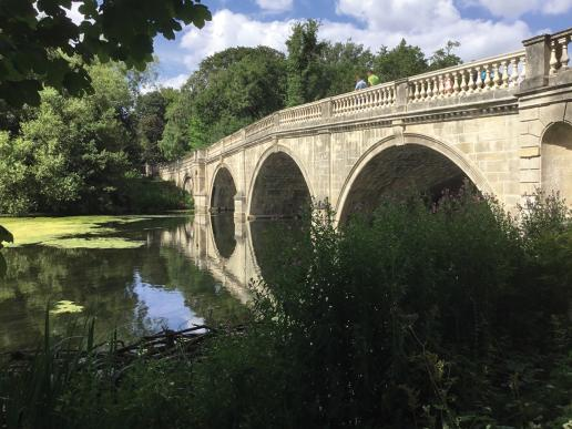 Clumber Park ornamental bridge