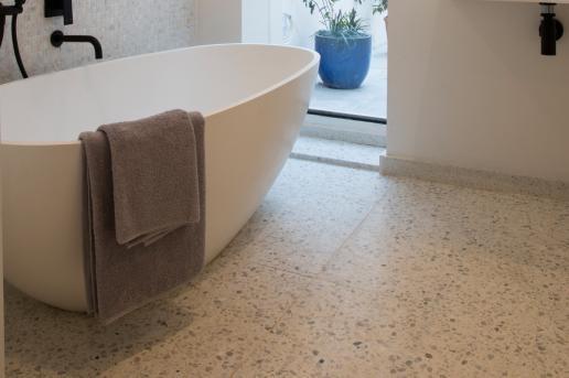 Diespeker Provides Terrazzo For Tv S Old House New Home