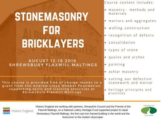 stonemasonry for bricklayers