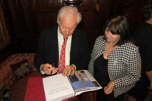 Angelo Hornak book signing