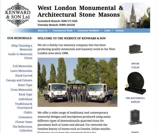 Kenward website