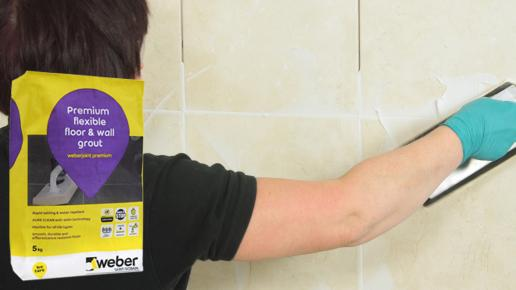Weber grout
