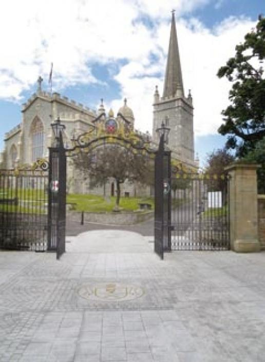 St Columb's Cathedral, Derry, following the completion of the latest conservation work inside and out.