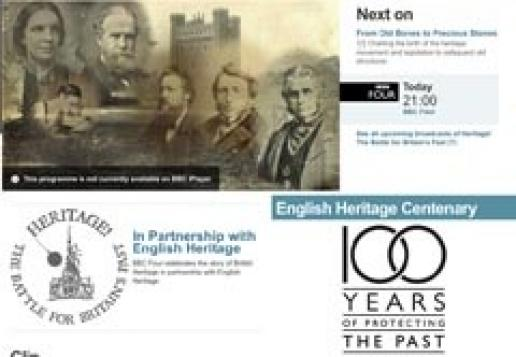 Heritage! Starting tonight on BBC4.