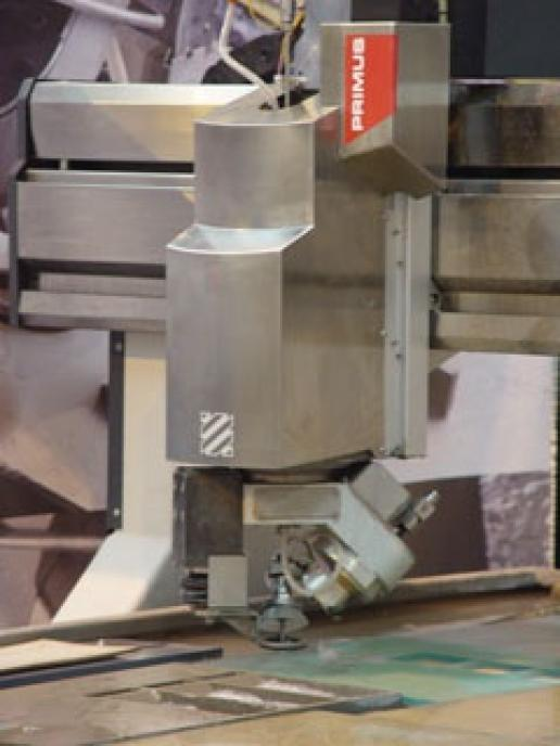 There will be live demonstrations of waterjet cutting on the Intermac stand in Verona.