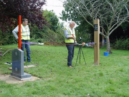 Testing memorial fixing systems