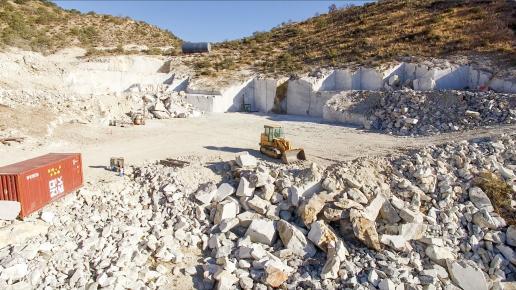 Arizona marble quarry