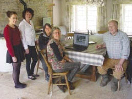 Restorative Technique's office team is (left to right): Aysha-Marie Davis, Office Manager Penny Love, Julia Fairchild, Sue Bilney and Jamie Fairchild.