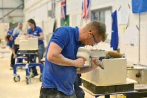 The pinnacle of training success. This is Sam Turner competing for his place in the UK Team at WorldSkills.