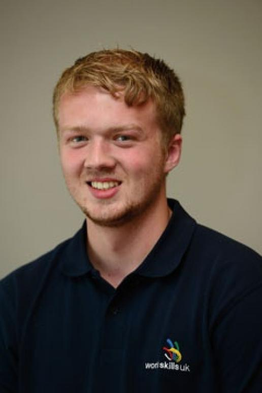Sam Turner, who will represent UK stonemasonry at World Skills in August.