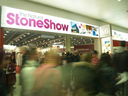 Stone Show entrance at ExCeL