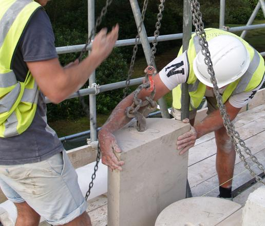 stone fixing