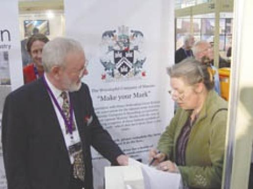 Register your banker mark at the Natural Stone Show.