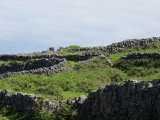 Enjoy a stone weekend on the rocky Aran island in Ireland this September.