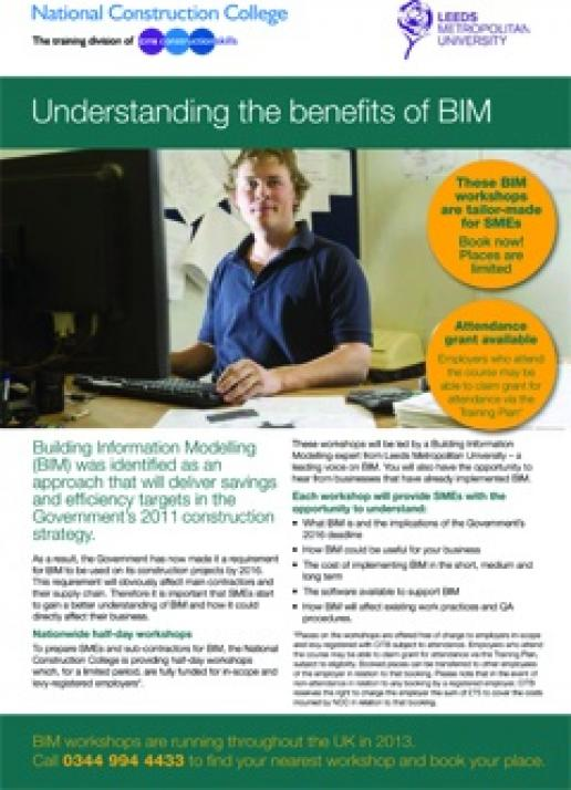 BIM is here and it will affect you. This course can help you find out how.