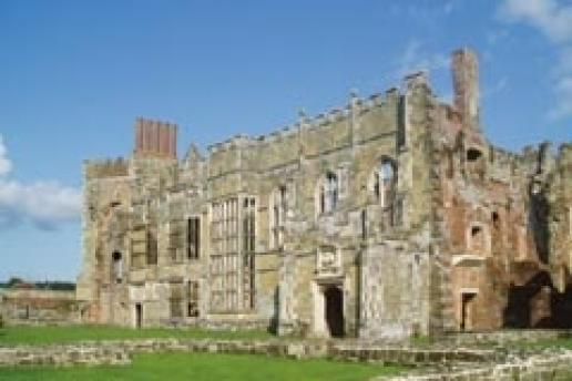 The hauntingly beautiful ruins of Cowdray have been restored and are open to the public.