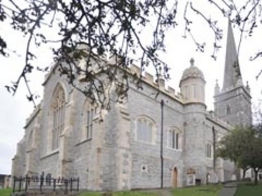 St Columb's Cathedral following the work by McMonagle Stone.