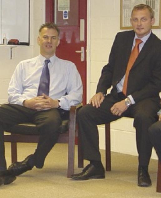 Steve Ralph (left) and Andy Brown, who have set up their own business as Brown & Ralph.