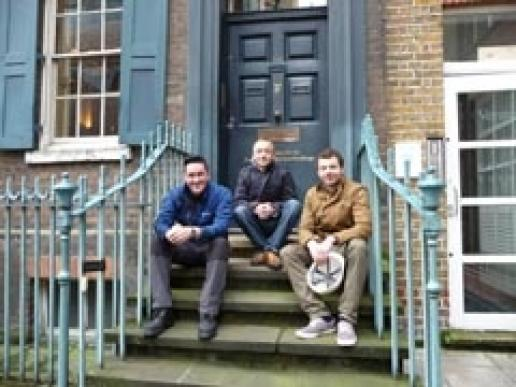 This year's SPAB Fellows are (left to right) Johnnie Clark, Jamie Miles and Tyrone Oakley.