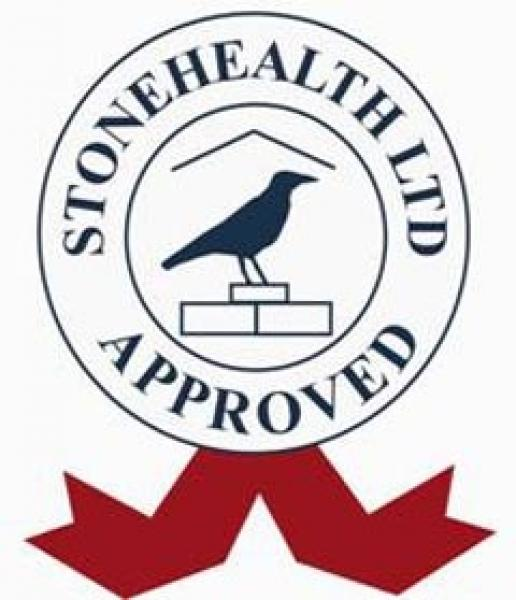 The Stonehealth stamp of approval.