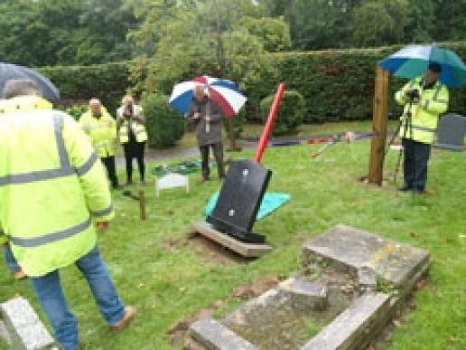 Perhapos testing wqould be best carried out by digging a pit, says Anton Matthews.