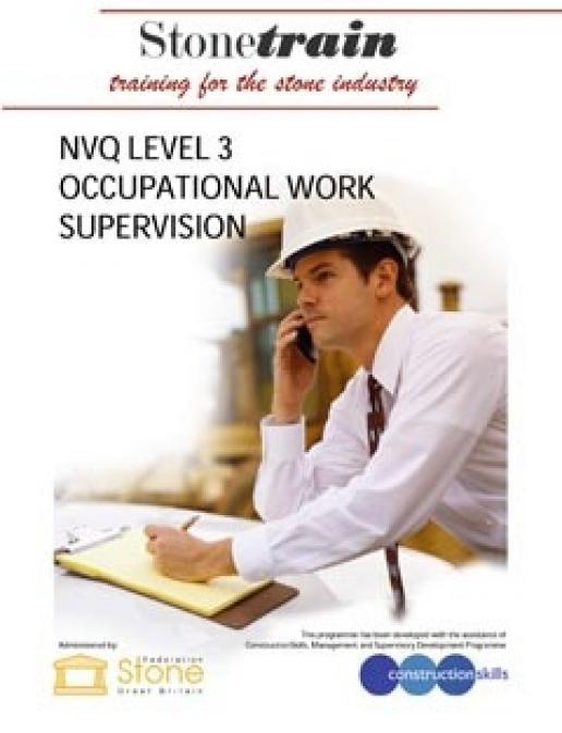 Stone Federation training arm, Stone Train, introduce a Level 3 NVQ for supervisors.
