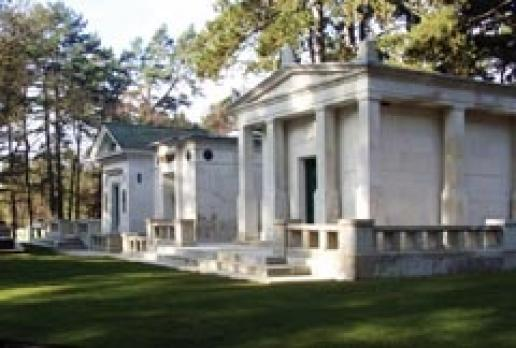 Tata Mausolea at Brookwood Cemetery in Surrey, conserved by Triton Building Conservation.