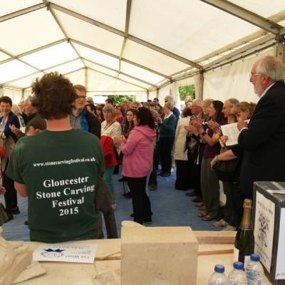 Gloucester stone carving festival
