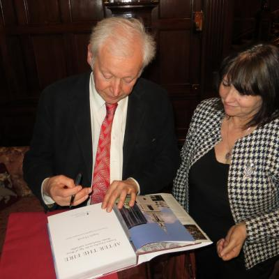 Angelo Hornak book signing