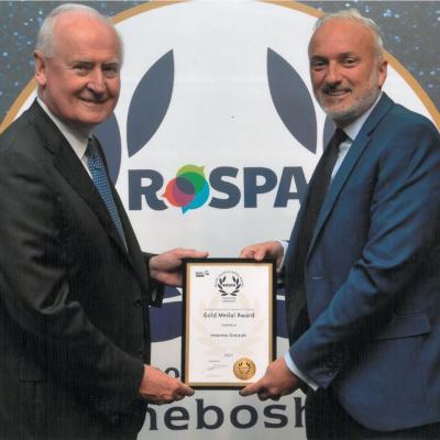 RoSPA Gold Medal